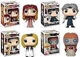 FunKo Pop! Carrie + Norman Bates + Tiffany + Annabelle - Horror Movies Vinyl Figure Set New