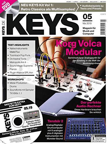 Korg Synthesizer Volca Modular im Test / Workshop Metal Produktion / Retro Classics Multisample