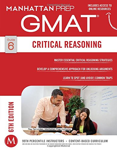GMAT Critical Reasoning (Manhattan Prep GMAT Strategy Guides) por Manhattan Prep
