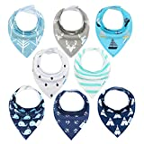 YOOFOSS Baby Bandana Dribble Bibs and Drool Bibs...