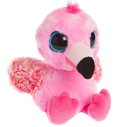 Aurora World 60378 - Yoohoo and Friends Pinkee Flamingo, Plüschtier, 20.5 cm, rosa