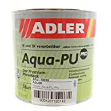 Aqua-PU Pro Premium-Malerlack matt rapsgelb 0,75l