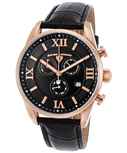 Reloj - Swiss Legend - Para Hombre - 22011-RG-01-BLK