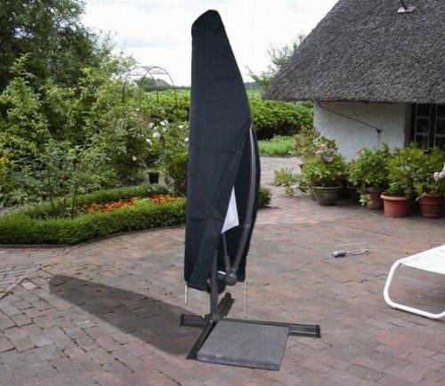 Schutzhülle Abdeckung Hülle Alu Ampelschirm 300cm anthrazit 454753