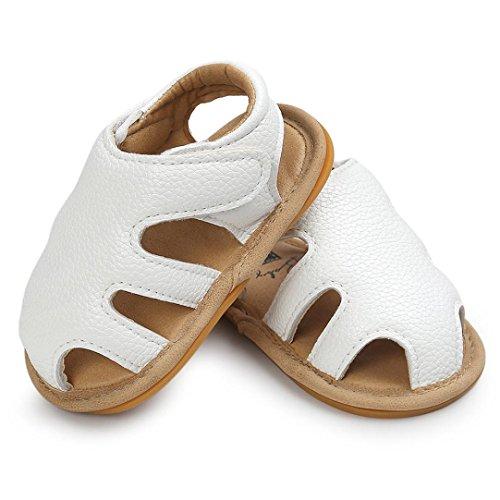 Baby Schuhe, Switchali Baby Sandalen Schuh Casual Schuhe Sneaker Anti-Rutsch Soft Sole Kleinkind Weiß