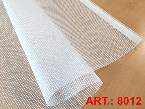 plisseeonline 8012 Panneau Coulissant avec revêtement en Aluminium 50 x 250 cm