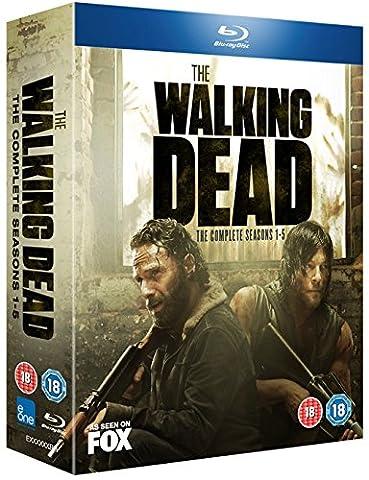 The Walking Dead: Seasons 1-5 [20 Blu-rays]