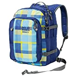 Jack Wolfskin Kids Packs Rucksack Berkeley S 7952 blue woven check