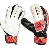 adidas Torwarthandschuhe Predator Training, Schwarz/Rot/Weiß, 11, Z19140
