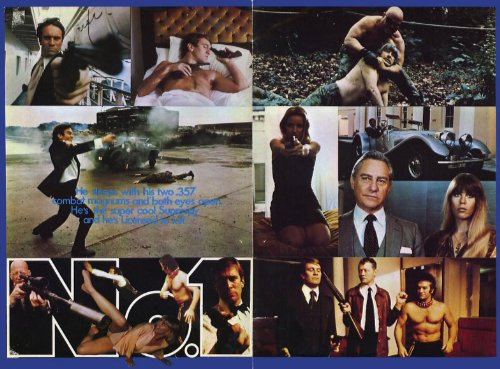 Preisvergleich Produktbild Number One of the Secret Service Plakat Movie Poster (11 x 14 Inches - 28cm x 36cm) (1977)