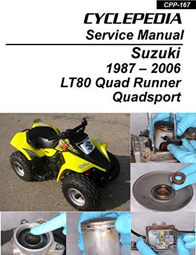 1987-2006 Suzuki LT80 Quad Runner/Quadsport - Kawasaki KFX80 Service Manual (English Edition)