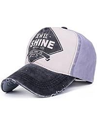 Llxln Gorras Gorras de 5 Paneles Hip Hop Tapa Colocada Snapback Presa Hueso  Lavado Sombrero para 350db2146bd