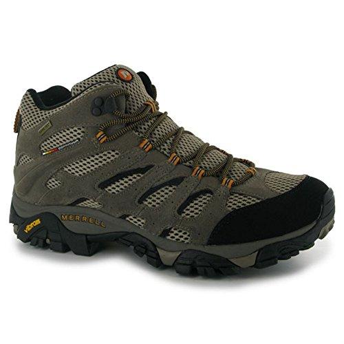 Merrell–Moab Mid GTX–Stivali Scarpe da trekking trekking Boots Stivali Multicolore