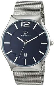 Time Piece Herren-Armbanduhr Classic Analog Quarz Edelstahl TPGS-30316-31M