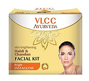 VLCC Ayurveda Skin Brightening Haldi and Chandan Facial Kit- 50g