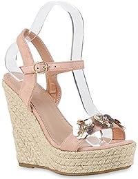 Suchergebnis auf für: Keilsandaletten pink: Schuhe
