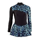 Starlite Ice Dance Flame Patinaje Vestido Azul Edad 12 -13 Años