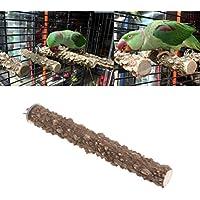 Keersi - Percha lima uñas de madera para jaula de pájaros