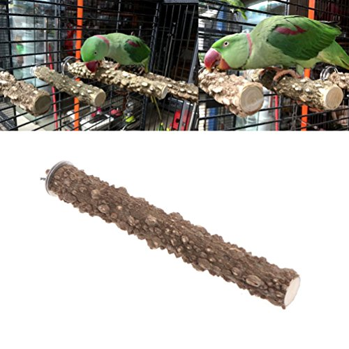 Keersi - Percha lima uñas madera jaula pájaros