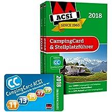 ACSI CampingCard & Stellplatzführer 2018 inkl. Ermäßigungskarte für die Nebensaison