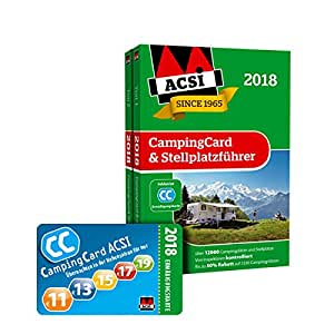 acsi campingcard stellplatzf hrer 2018 inkl. Black Bedroom Furniture Sets. Home Design Ideas