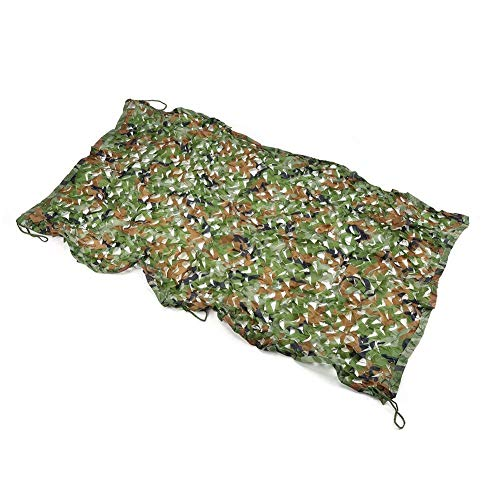 Filet de camouflage de la jungle, filet de protection contre la poussière de voiture pour le pare-soleil en plein air, filet de pare-soleil, filet de protection solaire, filet de décoration de chambre