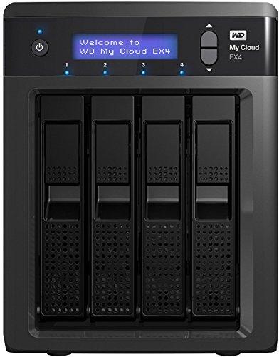 My Cloud EX4 NAS Festplatte - LAN - WDBWWestern Digital0240KBK-EESN ()