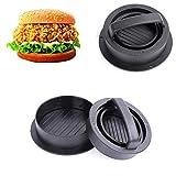 FXXJ 2PCS 3-in-1Hamburger Patty Maker, funktioniert am besten für Burger Making Kit, Hamburger zum Grillen, spülmaschinenfest, Küche & Grillzubehör