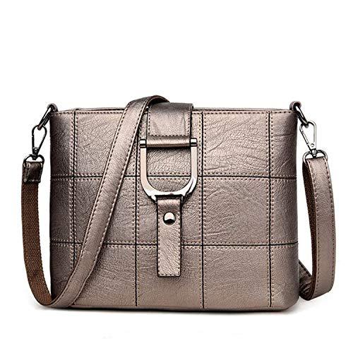 NauyGnol Damen Messenger Bag Damen Bag Casual Umhängetasche Small Square, Braun - zimt - Größe: Einheitsgröße -