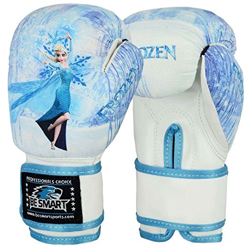 4OZ Flachmann 8oz Kinder Boxhandschuhe Junior Pad Boxsack Kinder Gel Pad Handschuh, damen Kinder Herren, Frozen (Smart Pad Junior)