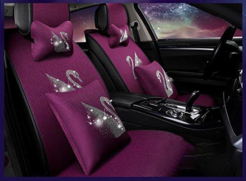 Das neue Auto Kopfstütze Lendenkissen, Baumwolle schützen Lendenkissen Sitz, vier Jahreszeiten Auto Kopfstütze Lendenwirbelsäule durch vier Anzüge. (Anzug Sieg)