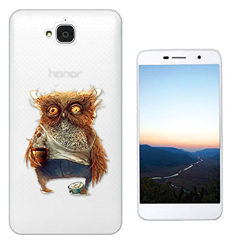 c01417-morning-owl-sleepy-coffee-alarm-clock-design-huawei-honor-holly-2-plus-fashion-trend-silikon-