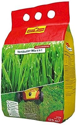 WOLF-Garten Nachsaat und Düngung Vertikutier-Mix 4-in-1, rot von WOLF-Garten bei Du und dein Garten