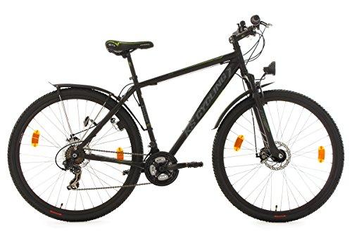 KS Cycling Mountainbike Hardtail Atb Twentyniner Heist RH 51 cm Fahrrad, Schwarz, 29