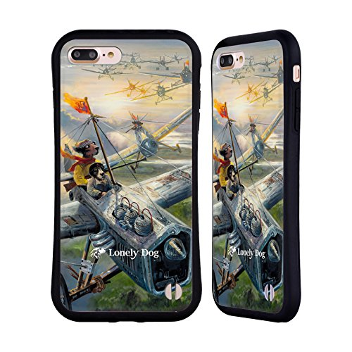 Ufficiale Lonely Dog I Terriers Avventura Case Ibrida per Apple iPhone 7 Plus I Terriers