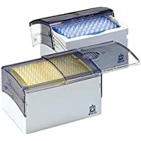 BRAND 702202Pipeta puntas con correderas de/Tapa de giro, Tip de caja, SL, Juego, unsteril, PC BOX