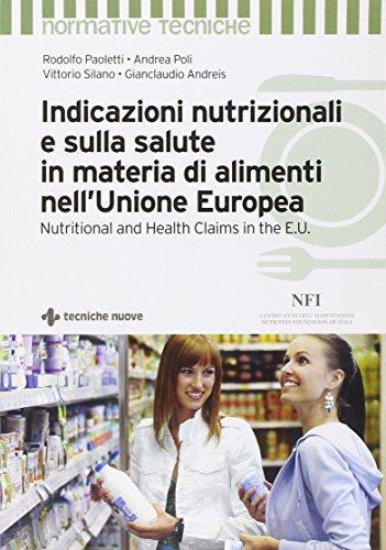 Indicazioni nutrizionali e sulla salute in materia di alimenti nell'Unione Europea di Liber Salus