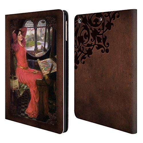 Offizielle Brigid Ashwood Wasserhaus 9 Präraffaeliten 2 Brieftasche Handyhülle aus Leder für Apple iPad Air