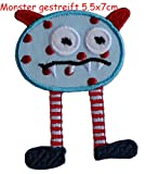 Monster Gestreift 5X7cm Aufbügler Fussball Bügel Rucksack Applikationen Kreative Kleider Kleidung Namen Bügelbild Dekorieren Türschild zum Geschenke für Verein Wimpel Turnsack Bürogeschenk Jeans Fahne Kappe Idee Motive Stoff Schal Aufnäher Mode Machen auf Sport Mädchengeschenk Geschenk Junge trendige Patch Tasche Kind Annähen Baumwolle Kissen Hemd Rock mit Decke Mädchen Flicken flicken Kinder Hut Jacke Kleider Stoff Mercerie Künste Farbig Hosen Halstuch Kindergarten Bügeln Kurzwaren