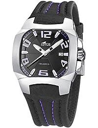 9f4a175534e4 Lotus - Cuadrado   Relojes de pulsera   Hombre  Relojes - Amazon.es