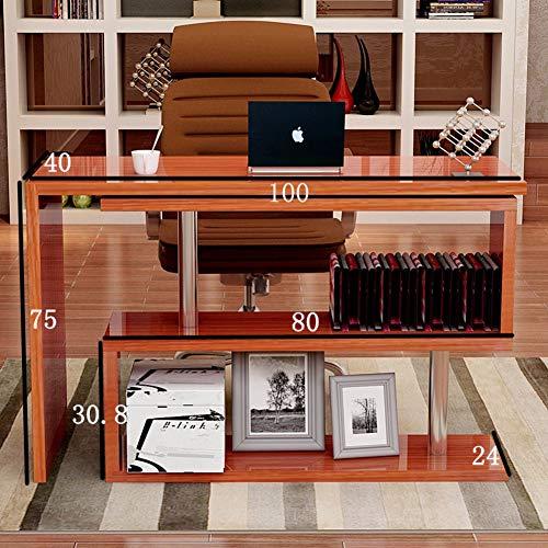 Wayward Drehen Computertisch,l Förmige- Ecke Computer Schreibtisch Studie Schreibt Schreibtisch Home Office Workstation Mit Ablagefläche-c -