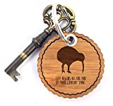 Mr. & Mrs. Panda Rundwelle Schlüsselanhänger Kiwi Vogel - Kiwi, Vogel, Kiwivogel, Neuseeland, Newzealand Schlüsselanhänger, Anhänger, Taschenanhänger, Glücksbringer, Schlüsselband