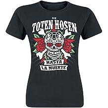 Die Toten Hosen Hasta La Muerte Girl-Shirt schwarz