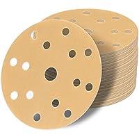 25 x Exzenter Schleifscheiben Schleifpapier 150mm Klett 15 Loch in P150 3M Pr.