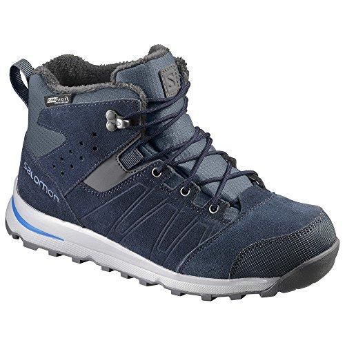 Chaussure rando Salomon Utility Ts Cswp J Slateble bleu