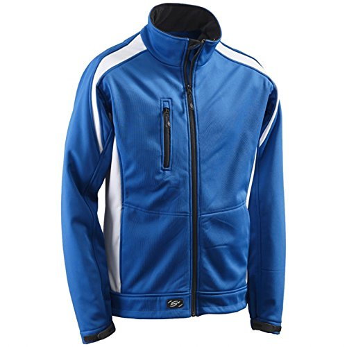 Preisvergleich Produktbild Funktionsjacke Softshelljacke Softshell-Jacke Athletic - Größe XXL - blau/weiß