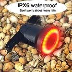 Luce-posteriore-per-bicicletta-Induzione-del-freno-USB-Ricaricabile-Luce-per-bicicletta-intelligente-Avviamento-automatico-Sensore-di-frenata-Sensore-IPx6-Impermeabile