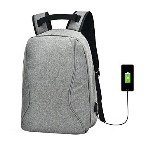 Rucksack Herren Tasche Business Casual Student Tasche Große Kapazität Rucksack Gray