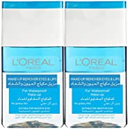 L'Oreal Paris Make-Up Remover for Eyes & Lips for Water Proof Make-Up, 2