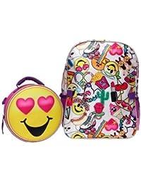 0c6945082019a0 Emoji Kids 16 Backpack & Lunch Tote Set 16 inch Backpack Lunch Set Back to  School